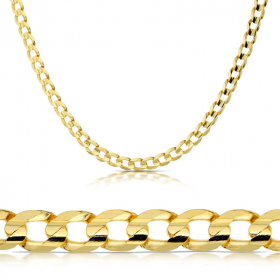 Łańcuszek złoty Pancerka 55cm