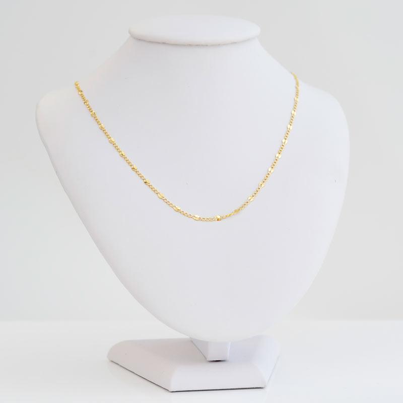 Łańcuszek złoty Fantazyjny 55cm