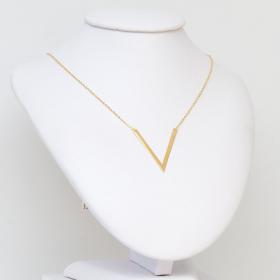 Naszyjnik złoty V