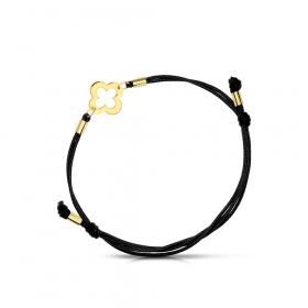 Bransoletka złota na sznurku Lillu
